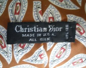 Christian Dior Silk Necktie