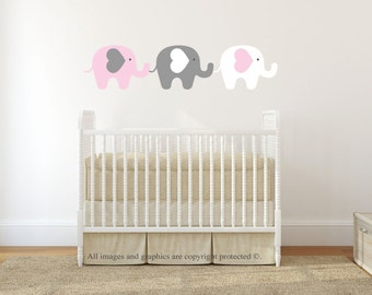 Wall Decals Nursery, Nursery Wall Decal, Safari, Jungle, Wall Decal, Wall Sticker, Baby Wall Decal, REMOVABLE and REUSABLE