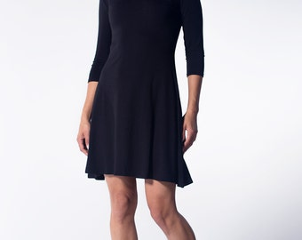 3/4 Sleeve A Line dress