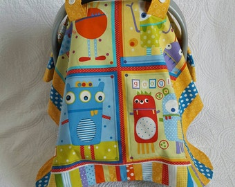 Googlie Monsters Car Seat Canopy