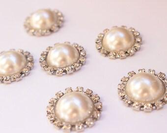 Strong Fridge Magnets, Rhinestone Pearl Magnet Set, Diamond Magnets, Decorative Magnet, Housewarming Magnet Set, Wedding Magnets