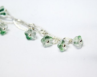 olive earrings green jewelry gift sister minimalist earrings gift cousin sterling silver jewelry green earrings long earrings пя1