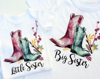 Little Sister Big Sister Shirts / Sister Outfits / Big Sister Shirt / Little Sister Big Sister Outfit