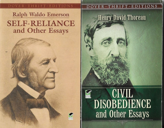 civil disobedience henry david thoreau essays