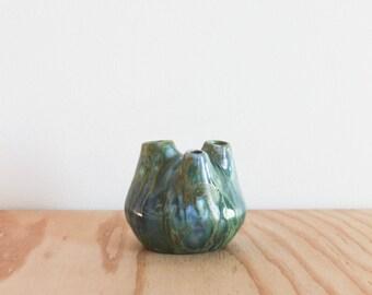Monterey Pottery Monterey Jade Bud Vase V-17