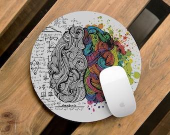 Mouse Pad Brain Desk Accessories Mousepad Office Decor Office Desk Accessories Office Office Supplies Office Accessories Color CMP_050