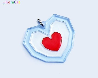 Legend of Zelda: Heart Piece (Necklace Keychain)
