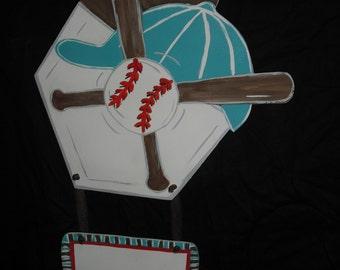 Baseball - Glove - Bat - Door Decoration