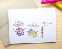 Funny Birthday Card for Him, Dirty Birthday Card, Birthday Card Funny ...