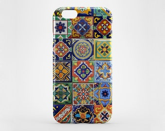 Classic Moroccan Tile iPhone 8 Case iPhone X Case iPhone 7 Plus iPhone 6 Plus Case iPhone 7 iPhone 6 Case iPhone 5 Galaxy S7 S8 Plus Case
