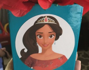 Elena of Avalor Party Stickers, Elena of Avalor Birthday stickers, Elena of Avalor party supplies, perfect for favor bags or centerpieces!