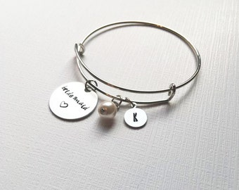 Will you be my bridesmaid gift - Maid of Honor Gift - Gift for bride - Bachelorette gift - Matron of Honor gift - Bridesmaid bracelet