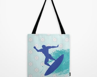 Kids Tote Bag , Surf Bag , Tote Bag , Beach Bag , Summer Bag , Kid's Tote Bag , Childs Tote Bag , Birthday Gift , Surfboard Bag