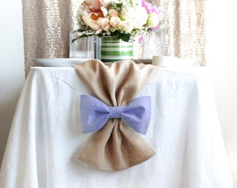 Lavender Wedding Table Runners - Lilac Wedding Decor - Bows and Table runners available -DISCOUNT for large orders