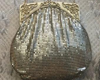 Gold Mesh Evening Bag 1960's