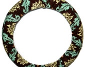 Steering Wheel Cover-Bark Damask-Cute Car Accessory for Women-Car Accessory-Car Accessories