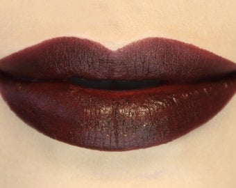 Rage - Dark Red Vegan Lipstick, vegan, vegan makeup, dark red lipstick, red lipstick, vegan lipstick, dark lipstick, potions cosmetics