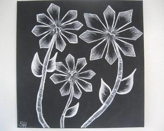 Moonflower Series Painting 3