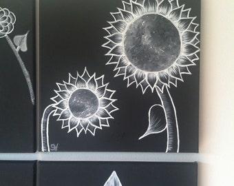 Moonflower Series Painting 5