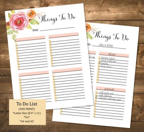 printable organizer