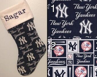 Fan Favorite - Custom New York Yankees Christmas Stocking