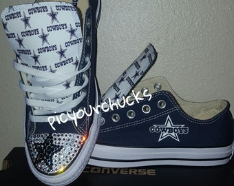 Custom Adult - Dallas Cowboys Converse