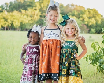 College and NFL Team Dresses