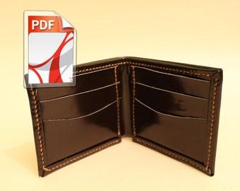 build a leather folded edges
