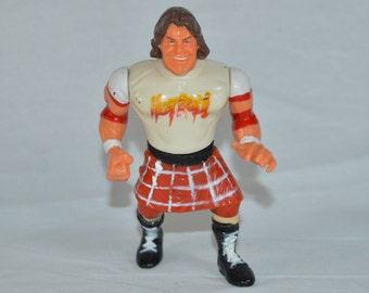 Rowdy Roddy Piper WWF Wrestling action figure Titan Sports Hasbro 1990 Hot Rod