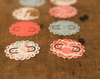 SWEET Oval Scalloped Earring Cards