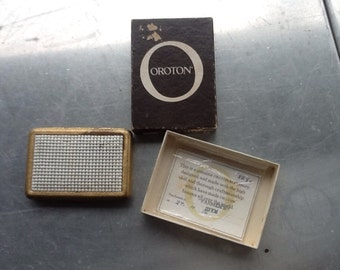 VINTAGE OROTON CIGARETTE/credit card holder accessory