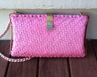 UNIQUE VINTAGE clutch /shoulder purse /handbag /hippy boho