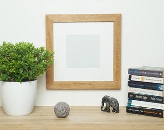 Square Oak Photo Frame