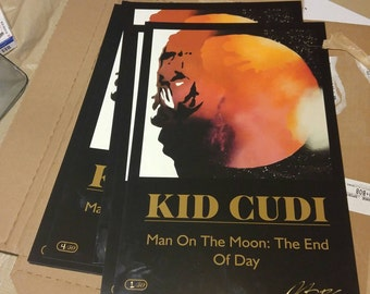 Kid cudi Poster 11x17 limited to 50 (42 left)
