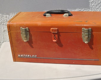 Vintage Waterloo Tool Box,