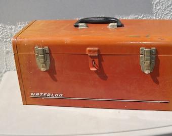 Vintage Waterloo Tool Box,