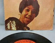 """Aretha Franklin """"Don't Cry Baby"""" and """"Without the One You Love"""" with original sleeve - 7 inch 45 RPM record"""