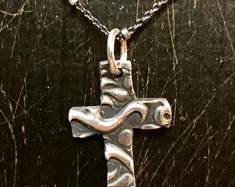 Fine silver cross
