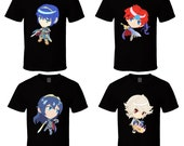 Fire Emblem - Choose a Character - Black T-Shirt