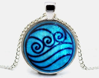Water Tribe Necklace Pendant Avatar the Last Airbender Jewelry (with jewelry box)