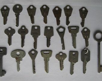 Vintage Soviet keys. USSR. 1970-1980