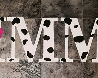 Personalized Cow Name