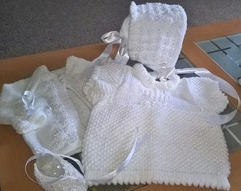 Outfit - Princess range consists of: Bonnet, Ballet Shoes, Cardi and Dress sizes 0-6mths approx