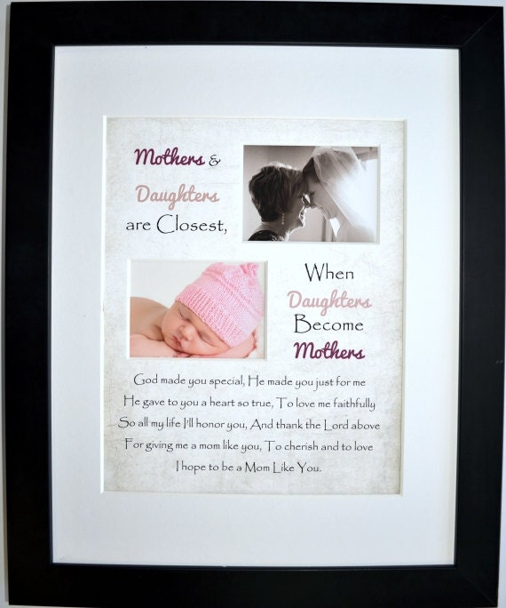 Unique Gifts For Mom Mother Daughter Poem Grandma Gifts