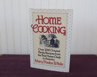 Home Cooking Cookbook, Vintage Cookbook, 1992