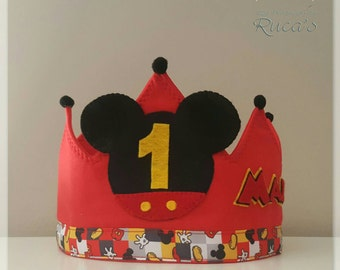 Crown birthday of Mickey Mouse