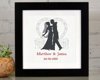 Our First Dance - Wedding Sampler Counted Cross Stitch Kit
