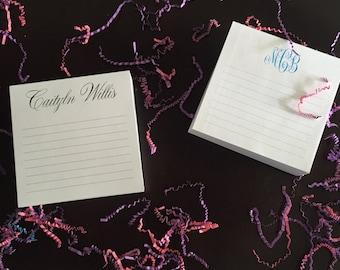 Personalized Notepad/Desk Slab