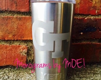 Etched Yeti Tumbler / Etched Yeti Rambler / Etched Yeti / Customized Etched Yeti