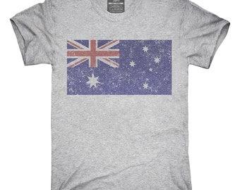 Retro Vintage Australia Flag T-Shirt, Hoodie, Tank Top, Gifts